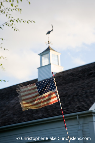 Flag and Weather Vane - Cape Cod