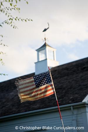 Flag and Weather Vane - Cape Cod