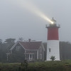 Foggy Morning at Nauset Lighthouse