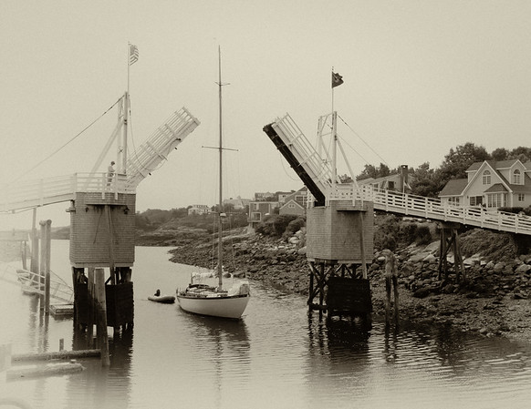 Perkin's Cove Drawbridge, Ogunquit, Maine