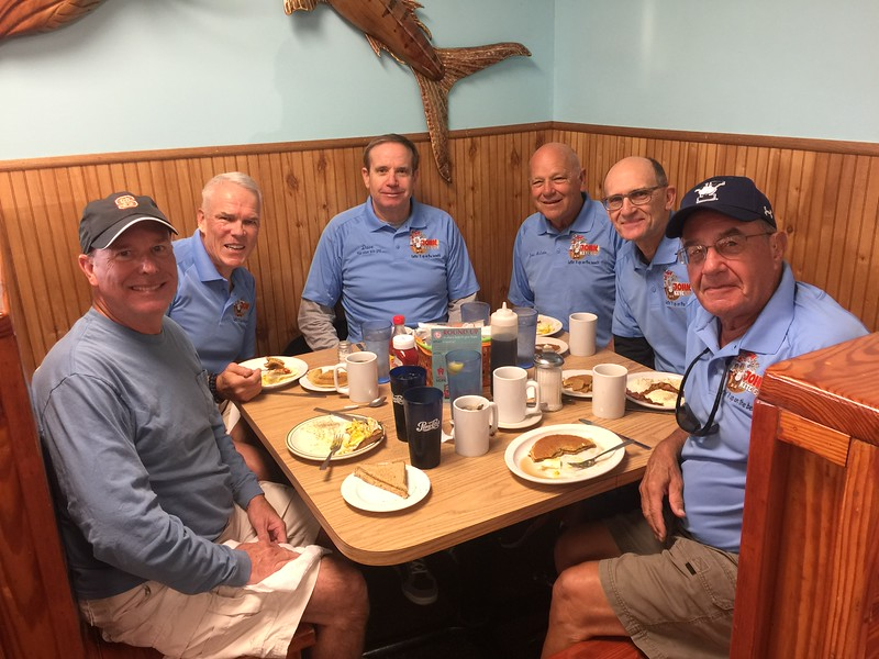 THE HB KITE CREW: (L to R) Jay Gilbert, Bob Dowd, Dave Harsant, John McEntire, Jimmy Dekay  (MIA -Chris Morrison)