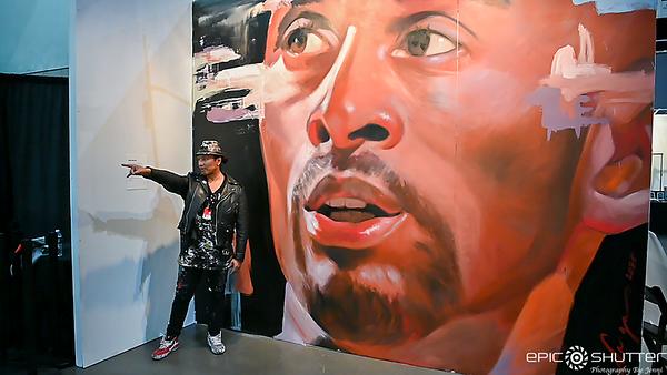 25th Annual LA Art Show, Opening Night, Los Angeles, California