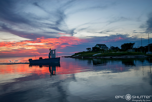 August 2, 2017, Avon Harbor, Sunset, Locals Only, Prime Season, Off Grid, Power Outage, Cape Hatteras National Seashore,Black Out 2017, Avon, North Carolina, Epic Shutter Photography, Epic Sunsets