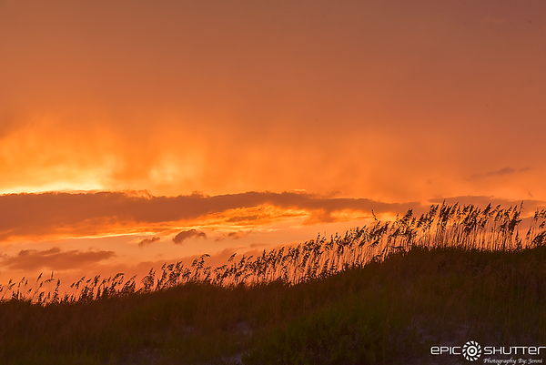 August 5, 2018 Sunset, Ocracoke Island, Outer Banks Photographer, OBX Documentary Photographer, Hatteras Island Photographer, Ocracoke, North Carolina