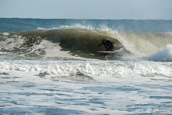 December 10, 2017, Surfing, December Swell, Waves, Buxton, Old Lighthouse Beach, Cape Hatteras National Seashore, Epic Shutter Photography
