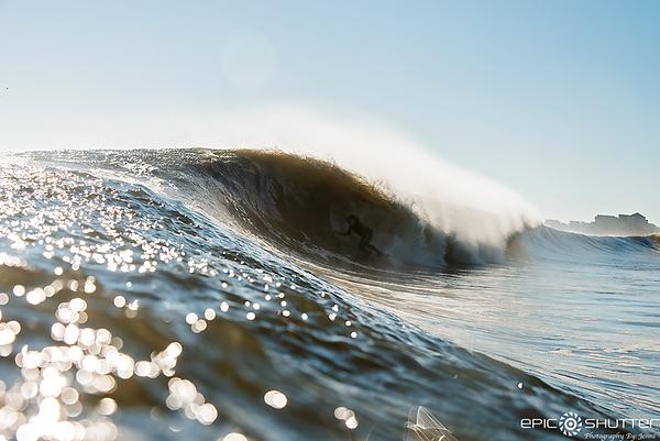 December 16, 2018 Surfing, Rodanthe, North Carolina, Cape Hatteras National Seashore, Epic Shutter Photography, Surf Photography, Surfing, Surfers, Outer Banks, Waves, Barrels