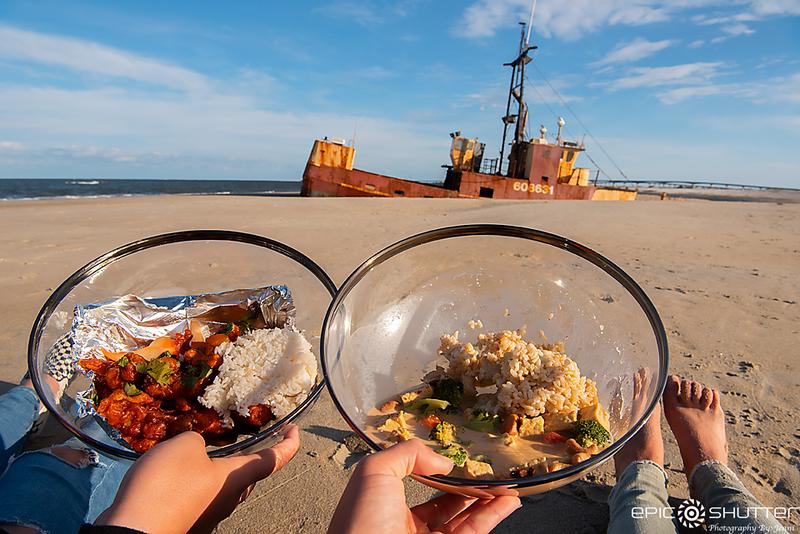 April 12, 2020 Dinner on the Ocean Pursuit Shipwreck