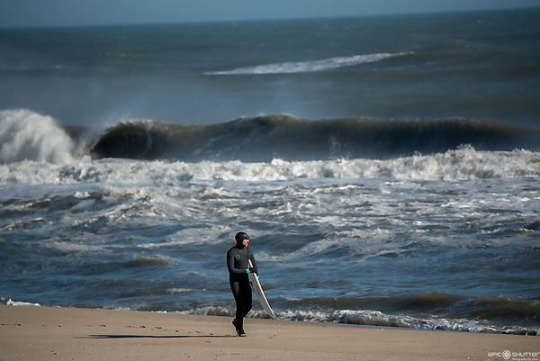 January 13, 2018, Surfing, Buxton, Cape Hatteras Motel's, Hatteras Island, Surfing, Surfs Up, Surfers, Local Surfers, Surfers, Swell, Barrels, Waves, Winter Swell, Off Season,Epic Shutter Photography
