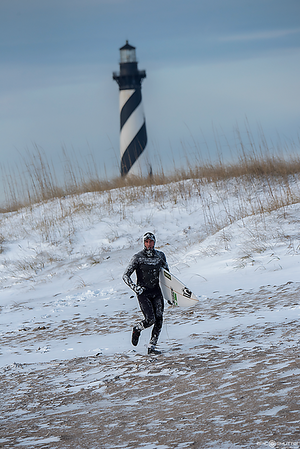 January 18, 2018, Winter Storm Inga, Swell, Surfing, Buxton, North Carolina, Cape Hatteras National Seashore, Cape Hatteras Lighthouse, Epic Shutter Photography,