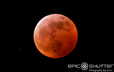 January 20-21, 2019 Super Wolf Blood Moon, Total Lunar Eclipse, Full Moon, Buxton, North Carolina, Epic Shutter Photography, Cape Hatteras National Seashore, Outer Banks Photographer, OBX Photographer, Documentary Photographer, Blood Moon, Winter, Hattera
