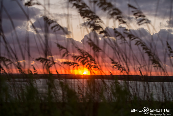 July 30, 2017, Sunset, Power Outage 2017, Black Out, Off Grid, Mandatory Evacuation, Locals Only,Cape Point, Buxton, Hatteras Island, North Carolina, Epic Shutter Photography
