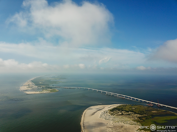 July 31, 2020 Aerial Photography, Oregon Inlet