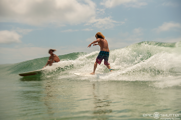June 20, 2018, South Beach Surfing, Pat O'Neal, Shane Aaron, Aquatech Imaging Solutions, Atlantic Ocean, Epic Shutter Photography, Outer Banks Photographers, Swell, Waves