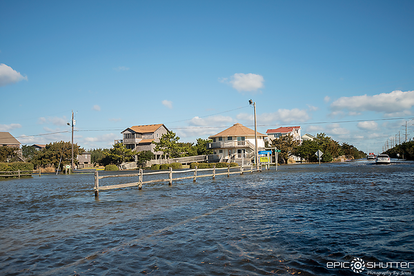 March 2, 2018, Winter Storm Riley, Weather Channel, Avon, Sound Side Flooding, Avon, North Carolina, Hatteras Island, Cape Hatteras National Seashore, Epic Shutter Photography, Outer Banks Documentary Photographers, Hatteras Island Photographers, OBX, Hat