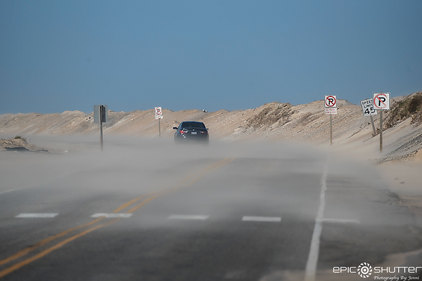 March 3, 2018, Winter Storm Riley, South Avon Flooding, Rodanthe, Sand Storm, Bonner Bridge Construction, Sunset, Epic Shutter Photography, Outer Banks Photorgaphers, Hatteras Island Photographers, Documentary Photography