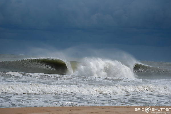 May 1, 2020 Waves Cape Hatteras Lighthouse, Epic Shutter Photography