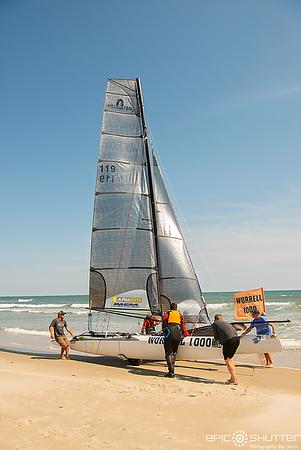 May 16, 2019, Worrell Reunion Race, East Coast Catamaran Sailboat Race, Ramp 49, Frisco, North Carolina, Cape Hatteras National Seashore, Worrell Race