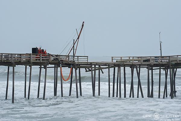 May 21, 2020 South Avon, North Carolina, Beach Erosion
