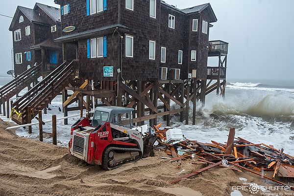 May 29, 2020 Rodanthe House Taken by Atlantic Ocean