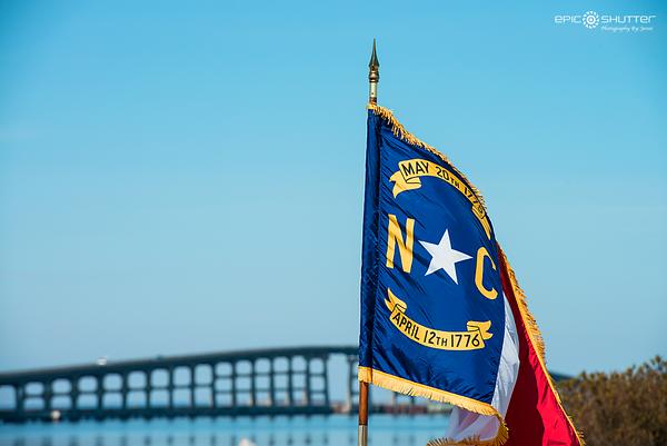 May 8, 2016, Ground Breaking Ceremony for new Herbert C. Bonner Bridge, Hatteras Island, OBX, NC