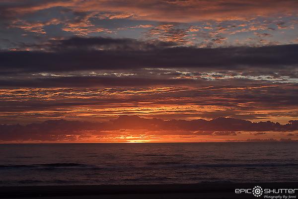 November 13, 2017, Sunrise, Avon, Hatteras Island, North Carolina, Epic Shutter Photography