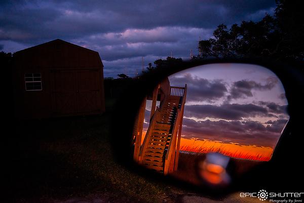 November 13, 2019 Sunset, Rodanthe, North Carolina, Cold Front, Epic Shutter Photography, Outer Banks Photographers, Cape Hatteras National Seashore, Hatteras Island, North Carolina, OBX Photographers, Cape Hatteras Photographers