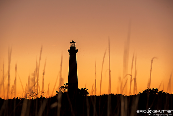 November 21, 2018, Cape Hatteras Lighthouse Sunset, Buxton, North Carolina, Epic Shutter Photography, Outer Banks Photographer, OBX Photographer, Hatteras Island Photographer, Epic Art Prints