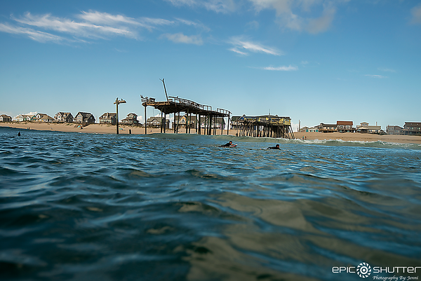 November 5, 2017, Final  Days of the Frisco Pier, Frisco, North Carolina, Epic Shutter Photography