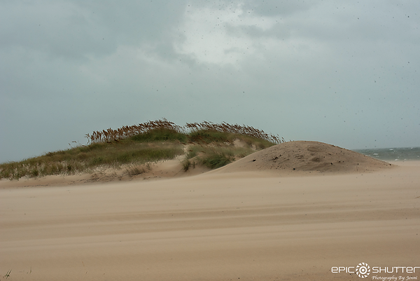 October 11, 2018, Tropical Storm Michael, Cape Hatteras National Seashore, Outer Banks Documentary Photographer, Hatteras Island Documentary Photographer, OBX Weather and Storms, Hurricane Season, Cape Hatteras Lighthouse, Epic Shutter Photography