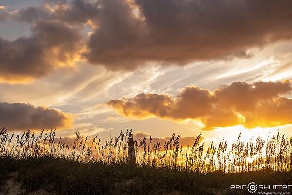 October 15, 2020 Cape Hatteras Lighthouse Sunset