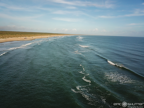October 20, 2020 Frisco, North Carolina, Fishing, Surfing