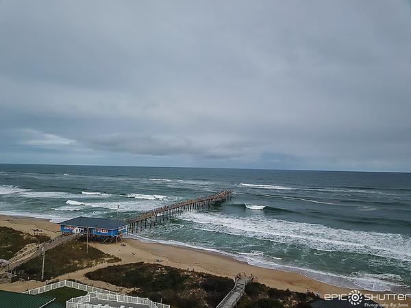 October 22, 2020 Avon Fishing Pier Surfing, Avon, NC