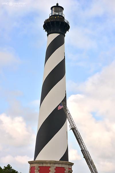 September 11th, 2015, 9/11 Memorial, Cape Hatteras Lighthouse Climb, Local Hatteras Island, Fireman,