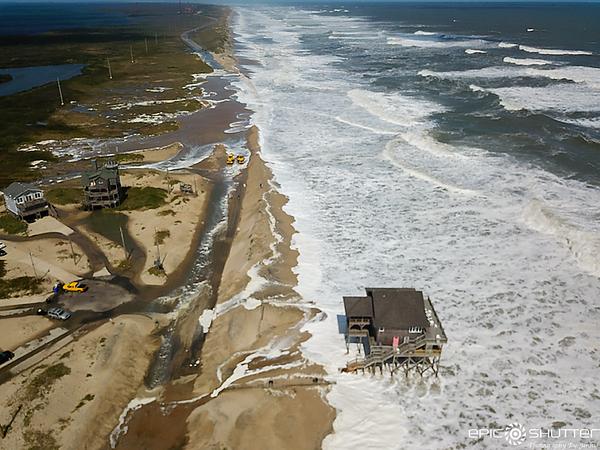 September 22, 2020 Rt 12 Closed, Rodanthe, North Carolina