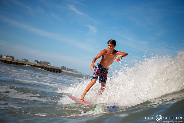 September 23, 2019 CHSS Surf Club, Clayton Tiderman, Buxton, North Carolina, Lighthouse, Epic Shutter Photography, Outer Banks Surf Photographer, OBX Surf Photography, Cape Hatteras National Sesahore, Surfers, Cape Hatteras Secondary School, Surfing, Swel