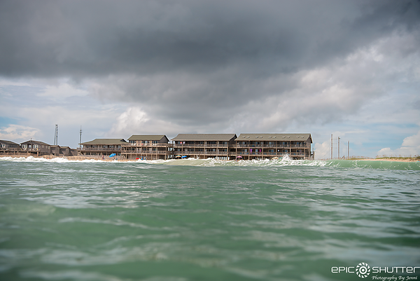 September 9, 2018, Surfing, Hurricane Florence Swell, Waves, Cape Hatteras Motels, Cape Hatteras National Seashore, Epic Shutter Photography,AquaTech Imaging Solutions, Outer Banks Documentary Photographer, OBX, Surfing, Sunset