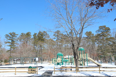 Cape May County Park Zoo Snow March 7 2015