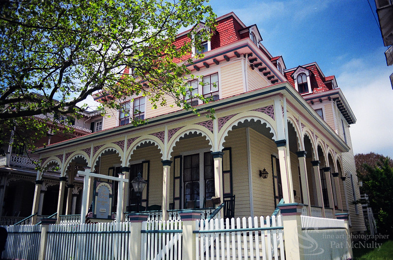 Cape May New Jersey Peninsula Victorian Architecture Photo