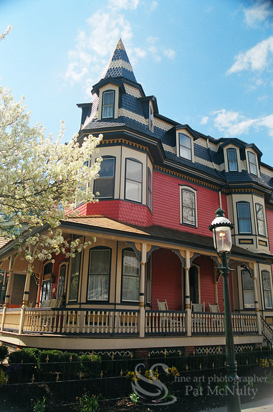 Cape May New Jersey Victorian Houses Picture