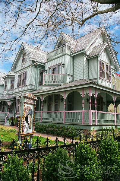 Cape May New Jersey Victorian Houses Photograph