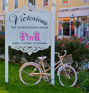 Victorian Shop Sign, Cape May, New Jersey