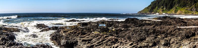 Beach near Thor's Well