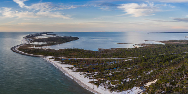 Cape San Blas from Above