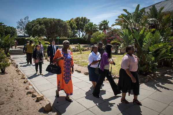 Parliamentary UNION Caucus visit to the Brooklyn Chest Hospital in Cape Town, South Africa.