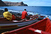 Jeunes pêcheurs de Ribeira da Barca. Ile de Sao Tiago/Cap-Vert