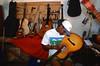 L'atelier de lutherie des fils Baptista (leur père était le luthier de Cesaria Evora) à Mindelo. Ile de Sao Vicente/Cap-Vert