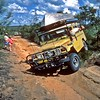 Troopy comes back onto the track