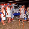 """At the Wenlock River camp, we truck in some high class entertainment. This song was """" Home among there gum trees """"."""