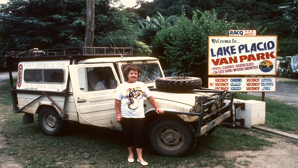 Our 4x4 Cape York driver