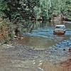 Toyota Bunderra crossing the Bloomfirld River.